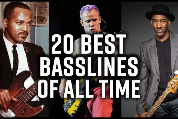 Scott Devine: The 20 Best Bass Lines of All Time