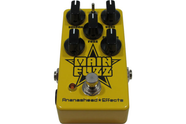 Ananashead Effects Introduces the Main Fuzz Pedal