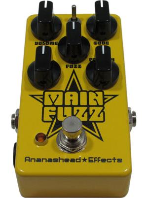Ananashead Effects Main Fuzz Pedal