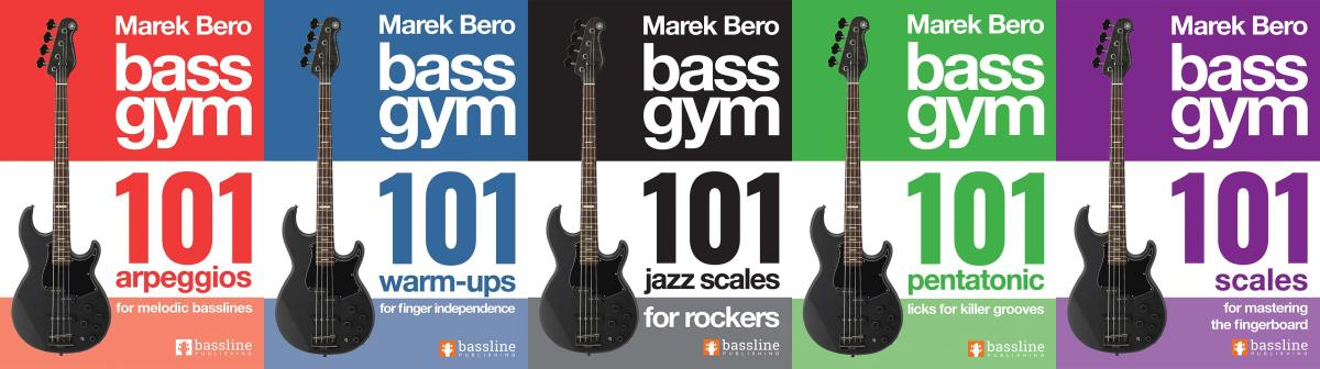 Bass Gym 101 Books