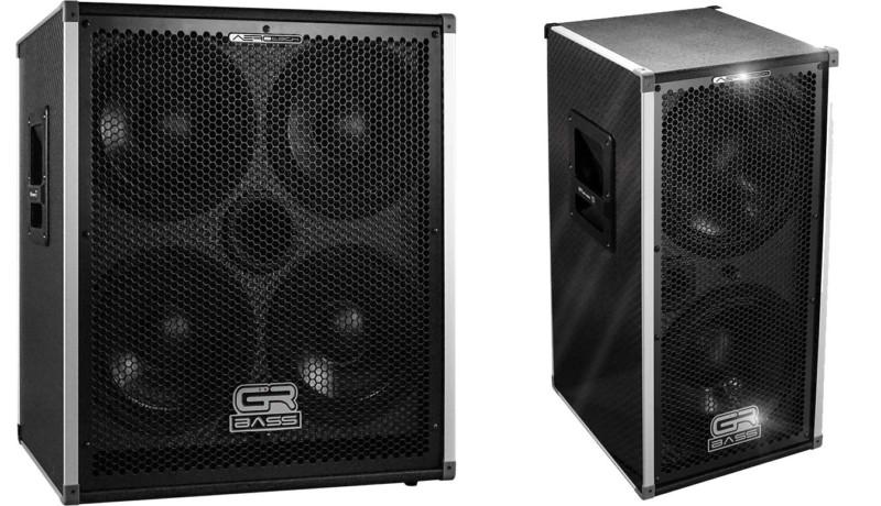 GR Bass Unveils the AeroTech Featherweight Bass Cabinet Series