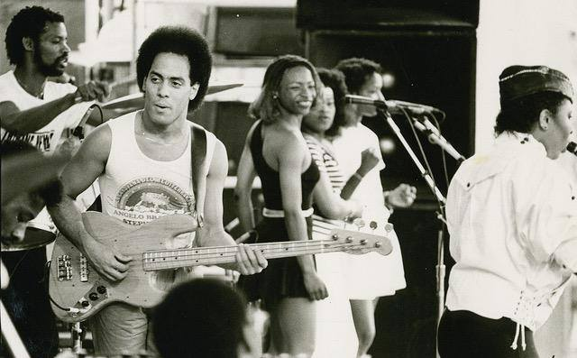 Carmine Rojas with Let's Dance Fender Bass