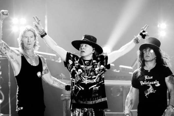 Guns N' Roses Plot North American Stadium Tour