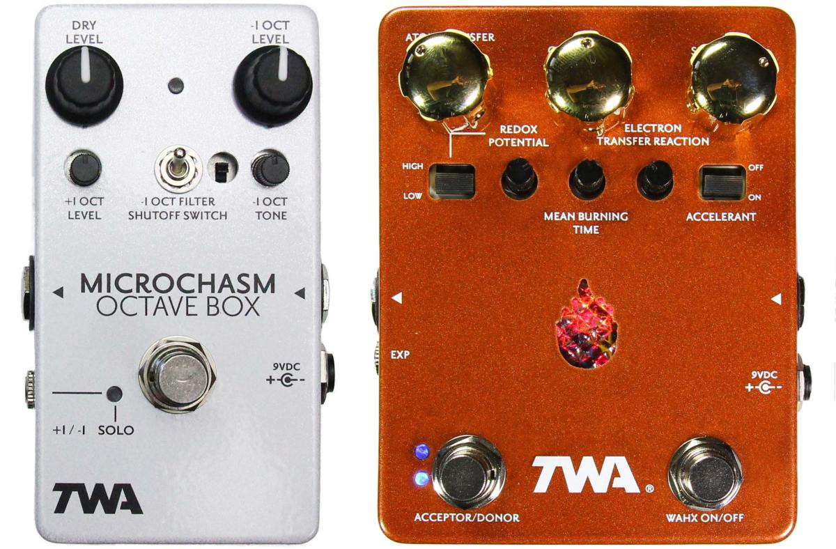 TWA Microchasm and Wahxidizer Pedals