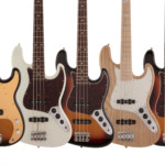 Fender Japan Launches Heritage Series Basses