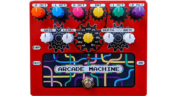 RPS Introduces the Arcade Machine Synth/Harmonizer Pedal