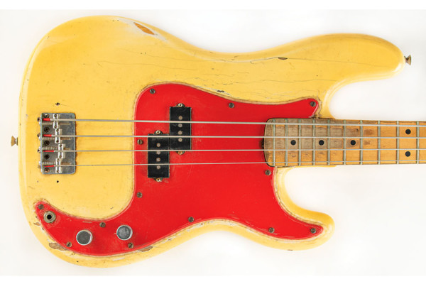 Dee Dee Ramone's Fender Precision Bass Up For Auction
