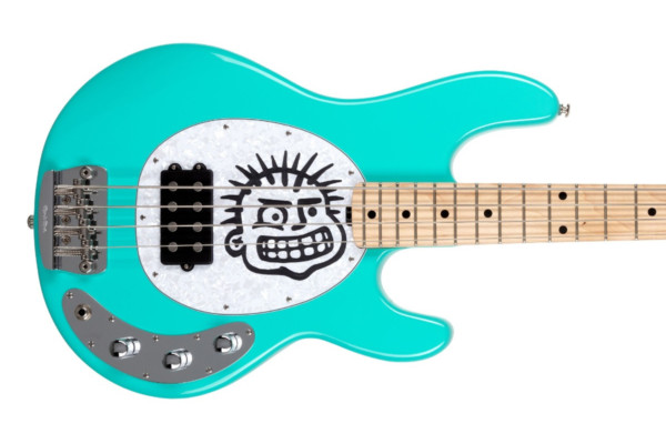 Ernie Ball Music Man Unveils Mike Herrera StingRay Bass