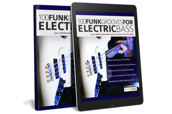 "Dan Hawkins Publishes ""100 Funk Grooves for Electric Bass"""