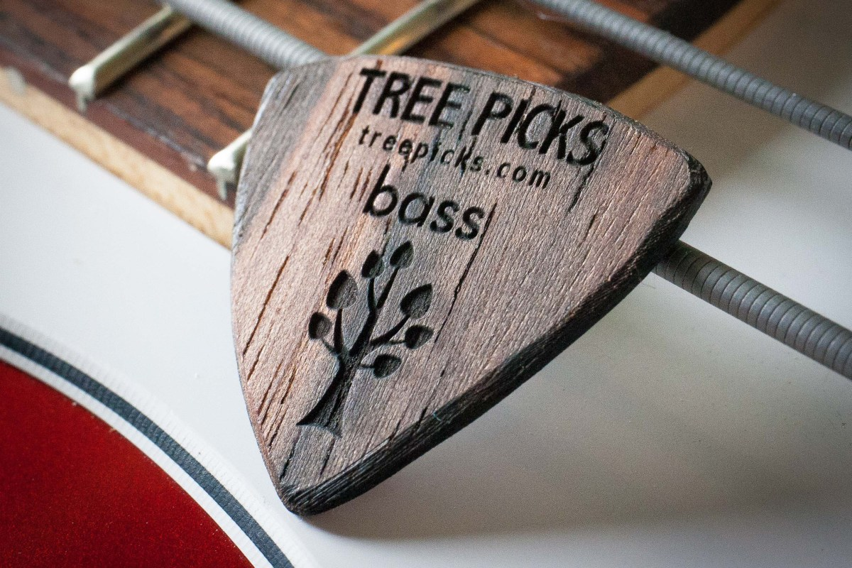 Tree Picks Bass Pick