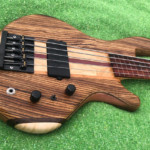 Bass of the Week: Beardly Customs Fretless Five-String