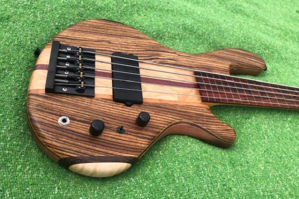Bass of the Week: Beardly Customs Fretless Five-String