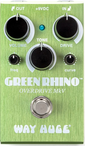 Way Huge Smalls Green Rhino Overdrive MKV Pedal