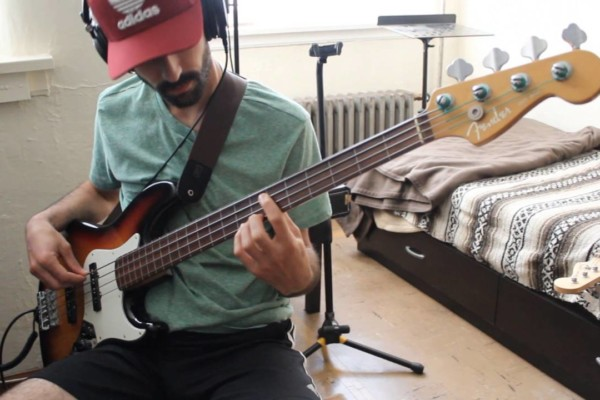 "Gonzalo Godio: ""Give Blood"" Bass Play-Through"