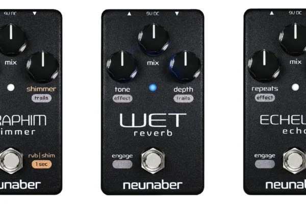 Neunaber Audio Introduces Elements Series Bass Pedals