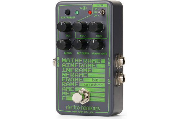 Electro-Harmonix Announces the Mainframe Bit Crusher Pedal
