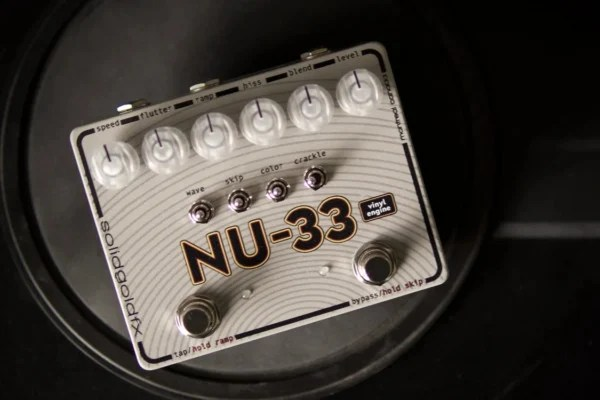 SolidGoldFX Introduces NU-33 Vinyl Engine Pedal