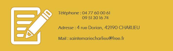 Infos Sainte Marie