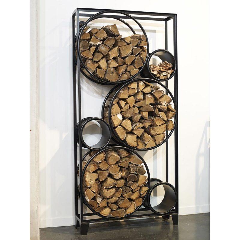 30 idees deco pour stocker le bois
