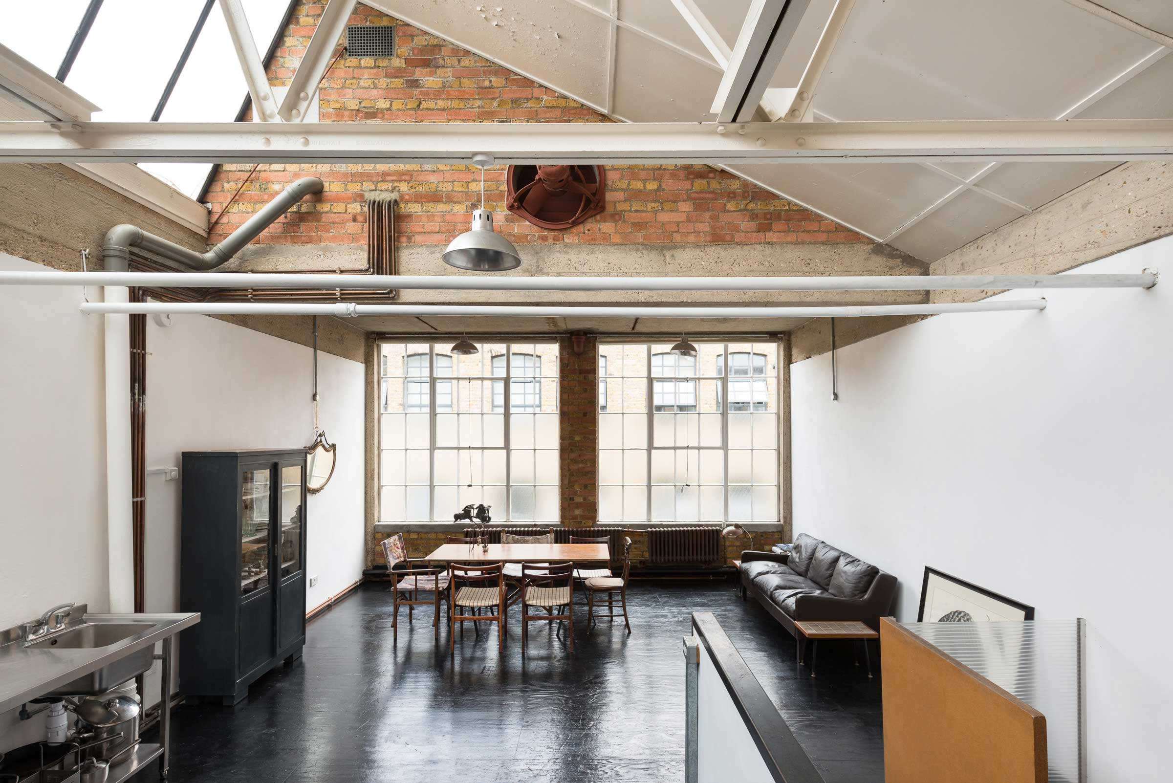 Loft Londres Loft Atelier Plateau Surface Vendre