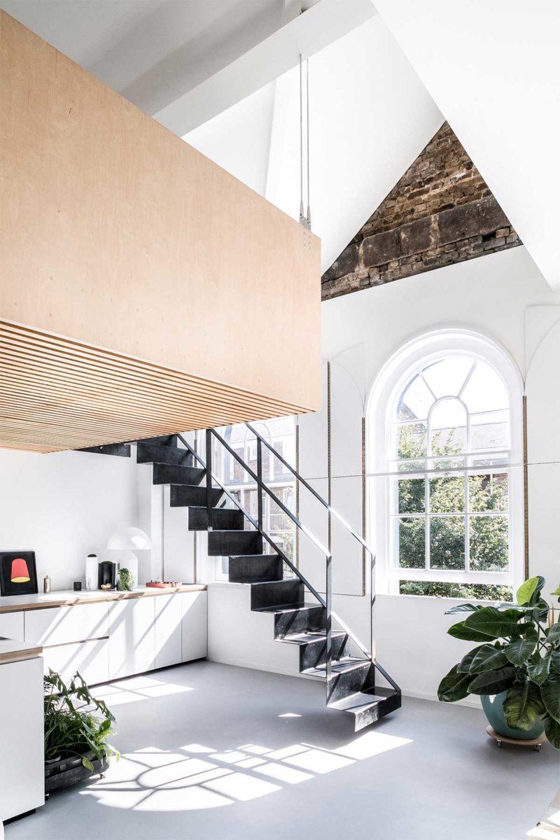 Escalier 28 Idees De Design Pour Amenager Un Loft