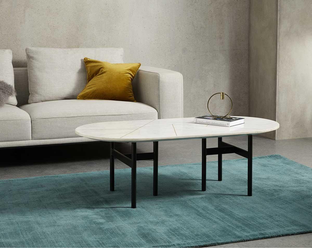 table basse marbre 23 idees deco pour