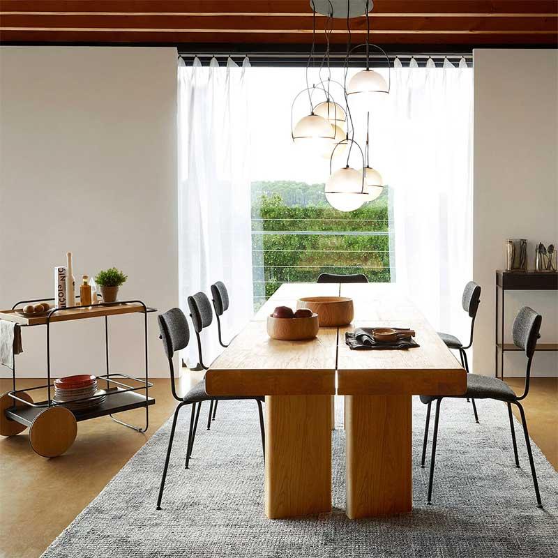 table en bois massif 20 idees deco