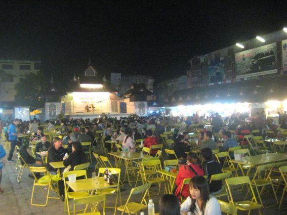 Place centrale du Night Bazaar