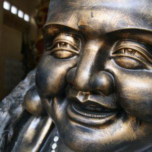 Statue heureuse
