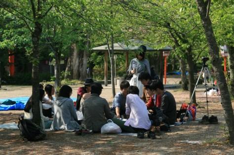 Fin de la saison des Hanami