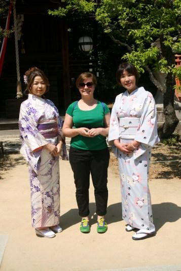 Choupi et les kimono girls