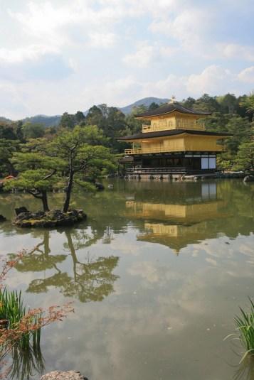 Kinkakuji Temple ou Pavillon d'or