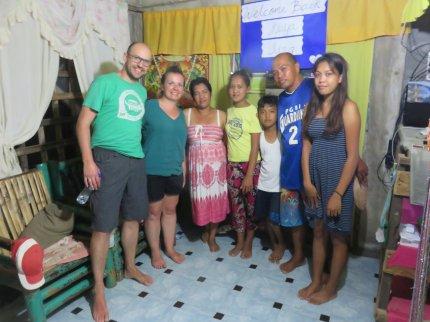 Avec la famille de Tan
