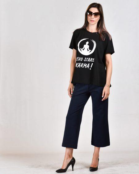 T-shirt oversize positiva
