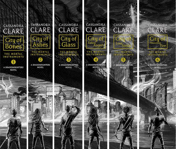 Image result for Recent city of bones Book covers spine