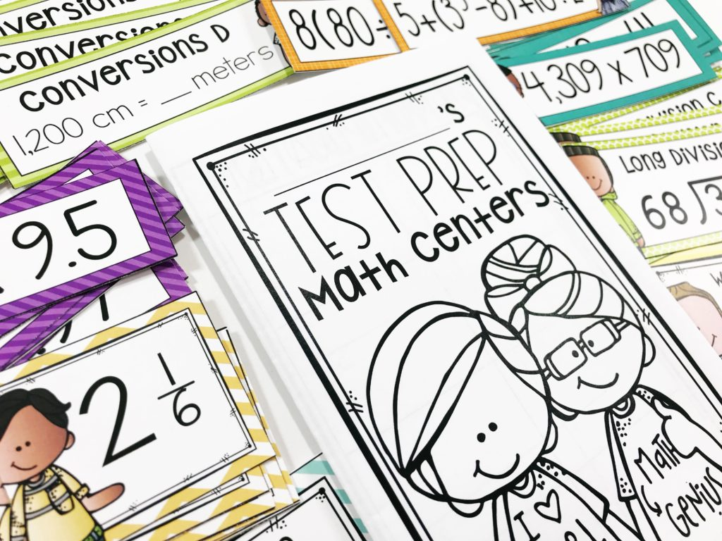 Fun Math Test Prep Activities