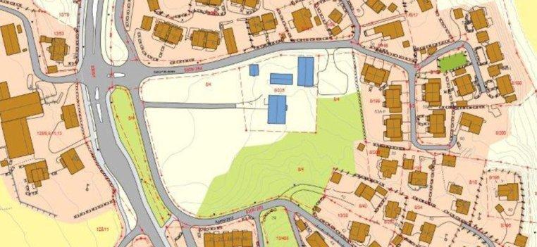 Kart eiendommen