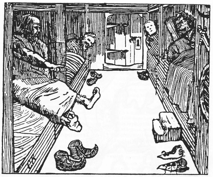 Torarin viser frem sin styggeste fot for kong Olav (den hellige).