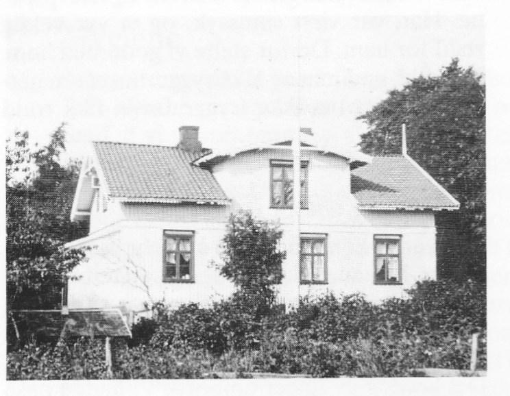 Irene Sturøds (Andersen) barndomshjem «Sommerfryd» på Bjerkø.