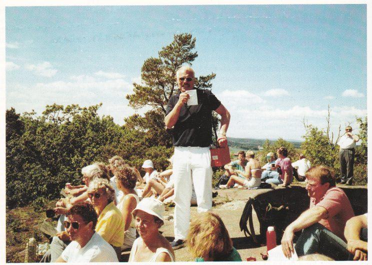 Tore Dyrhaug var guide for 150 personer på vårturen til Håøya.