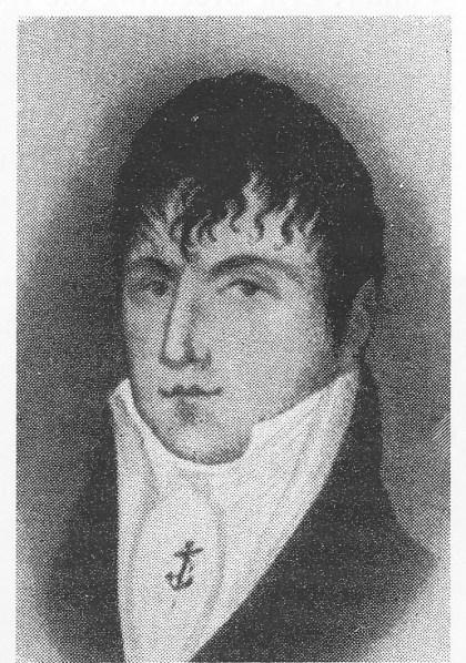Volkert Erik Breckling. Portrett i L.Berg, Nøtterø.