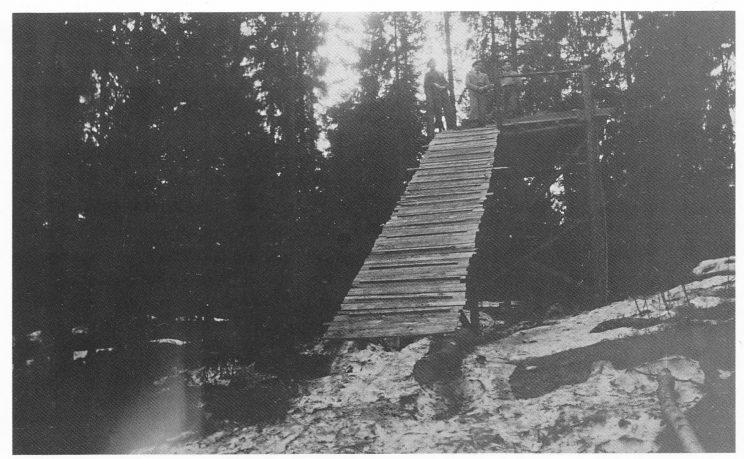 Stillaset i Kikut, fotografert i mars 1938.