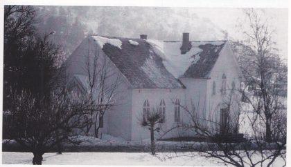 Lysheim bedehus. Oppført 1925, revet 1983. Foto: John Kristian Kristensen.