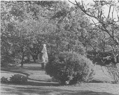 Haven til Kranstad med galionsfigur. Fra syd. Foto utlånt av Yngve Kranstad.