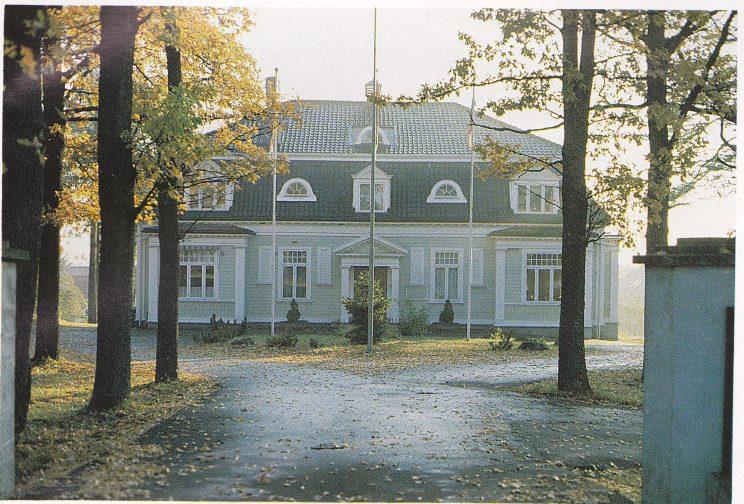 Herskapsboligen «Gimle», bygget i 1906.