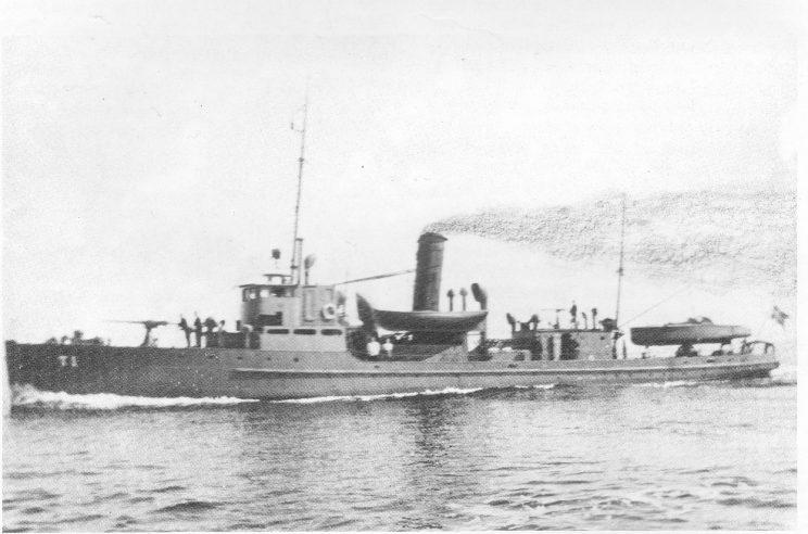 Den sterkt bevæpnede tollkrysseren «T 1» ble en farlig fiende for smuglerne utenfor Nøtterøy.