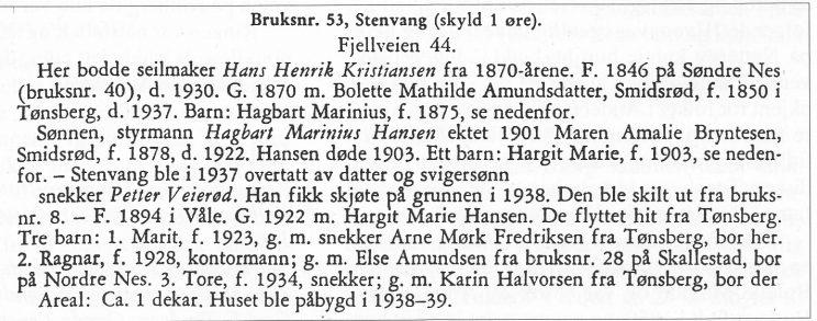 Fra S. Unneberg, s. 219.