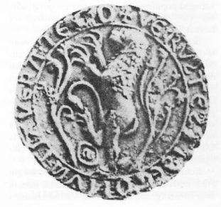 Segl funnet i Tønsberg. Kan ha tilhørt kong Sverre.
