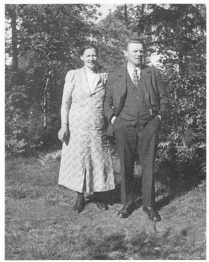 Anna og Ole Bøe bodde i Skoleveien 8.