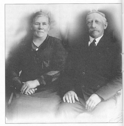 Petra og Peder Emil Oscarsen. Bildet er utlånt av Inger Liv Pedersen.